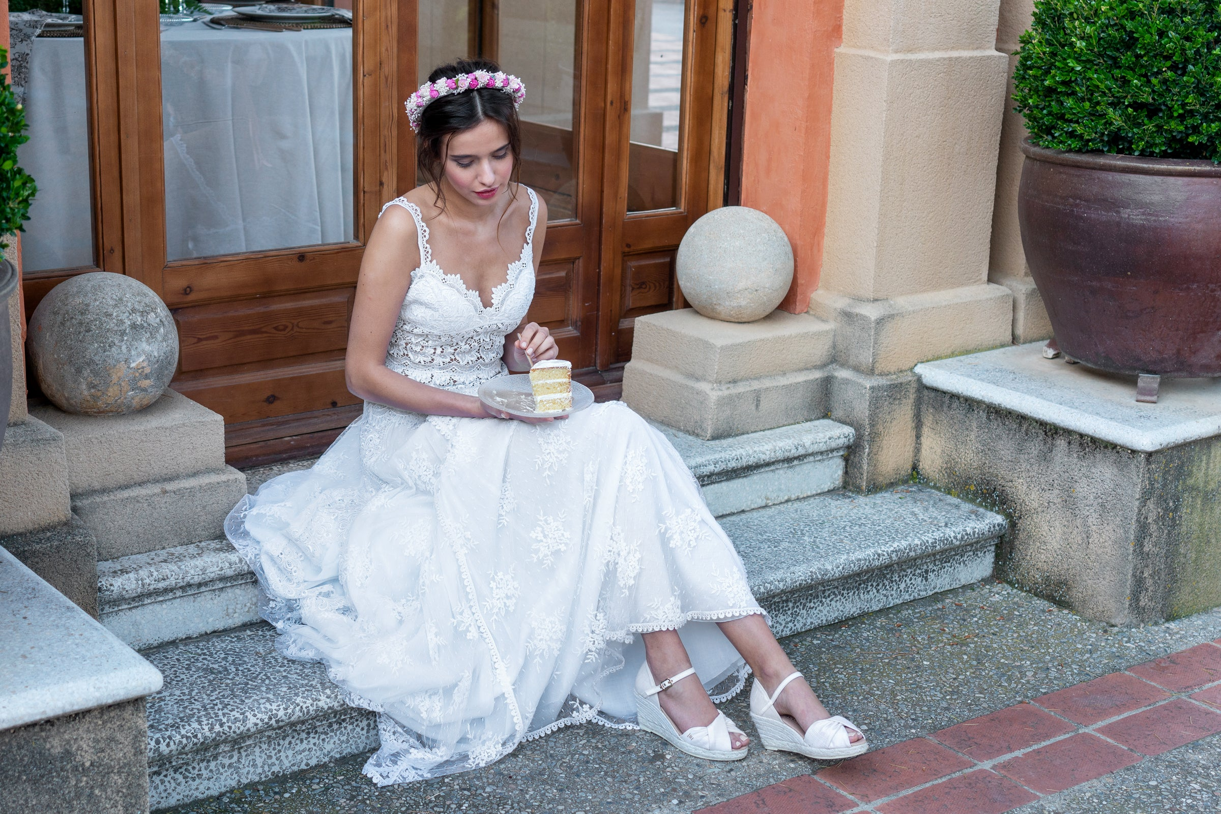 Viscata Made in Spain Espadrille Wedges Bridal Collection