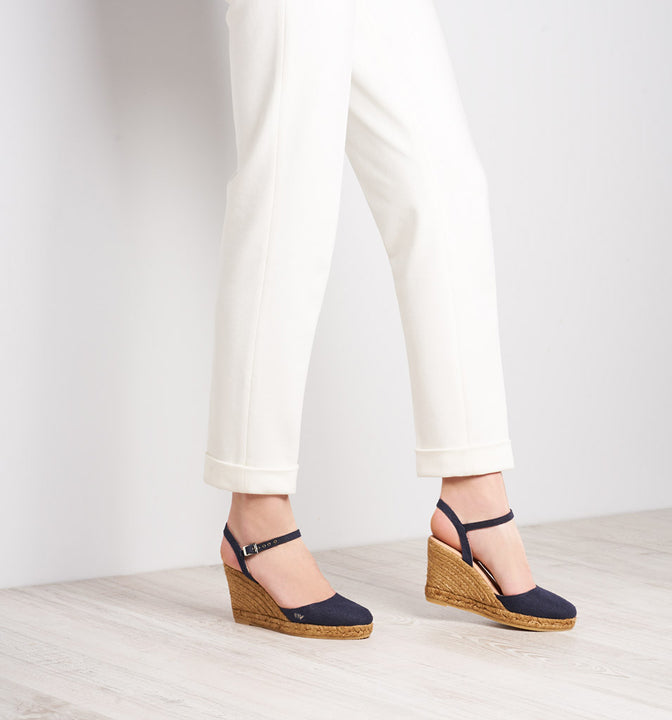 Peratallada Canvas Navy