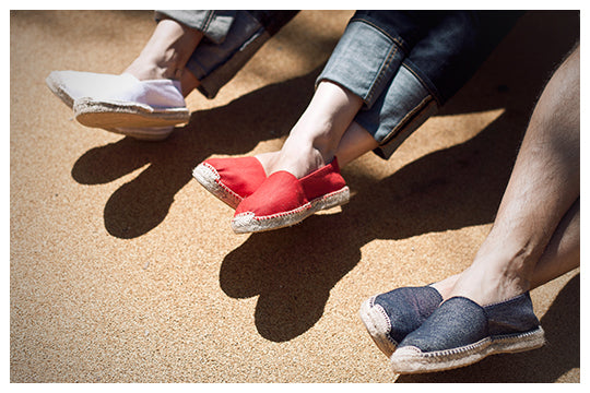 Espadrille made for comfort by VISCATA
