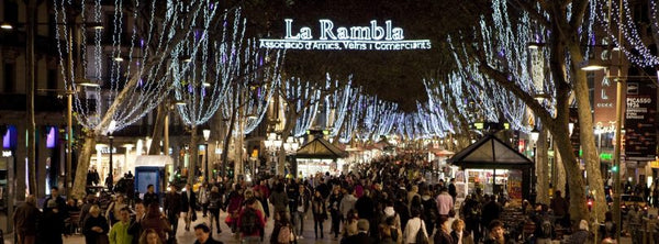 Barcelona - Chritsmas lights