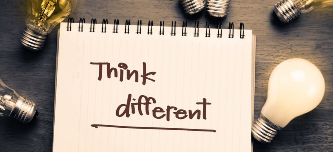 Think Different: Be creative and innovative
