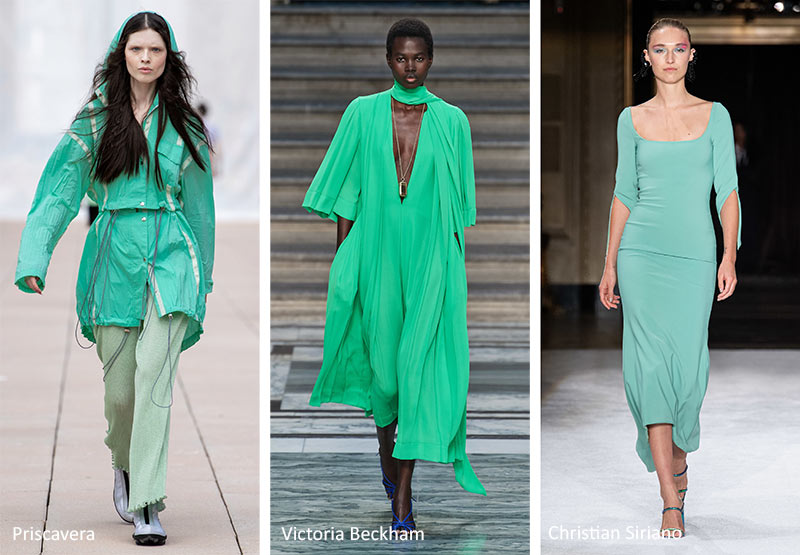 Biscay Green SS20 runway