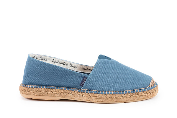 Barceloneta Canvas Espadrilles - Denim (Elastic Inseam)