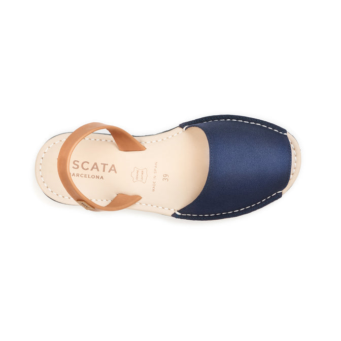 Buy Menorquina Canvas Avarcas -Navy online