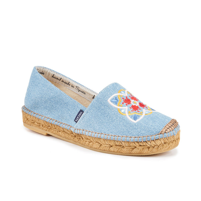 Buy Barceloneta Barcino Canvas Espadrilles - Denim online