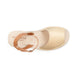Ciutadella Leather Ankle Strap Avarcas - Beige 1
