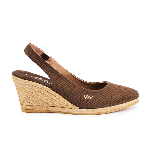 Lloret Wedges - Brown