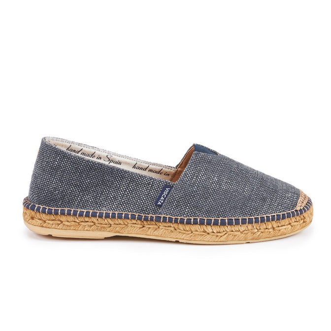 Buy Barcelona Canvas Espadrilles - Dark Denim (w/ Elastic Inseam) online