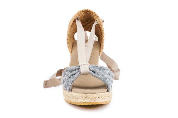 Tossa Wedges - Bubble Blue