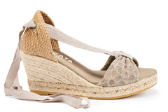 Tossa Wedges - Bubble Mauve