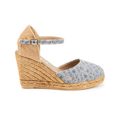 Satuna Wedges - Bubble Blue