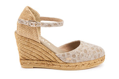 Satuna Wedges - Bubble Mauve