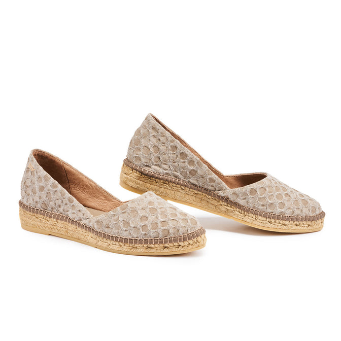 Buy Rascassa Canvas Espadrilles - Bubble Mauve online