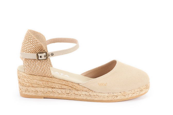 1ffa6f6545a90 Buy Canet Canvas Espadrille Wedges - Beige online