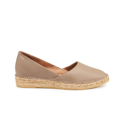 Rascassa Leather Espadrilles - Tan Brown