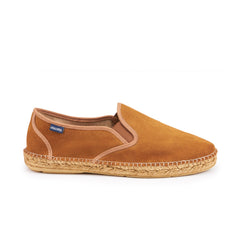 Medes Suede Slip-on Espadrille - Sahara Brown