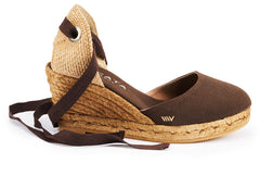 Sagaro Wedges - Brown