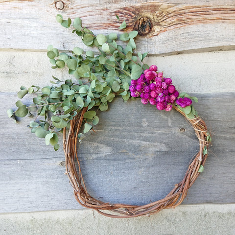 Beth's fall wreath