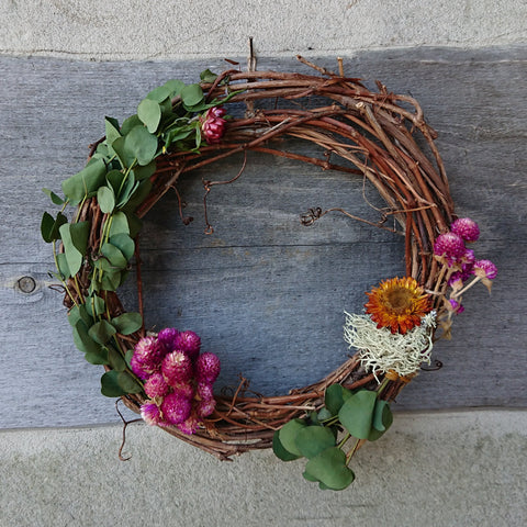 Anne's fall wreath