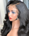 (🔥HOT)Goddess Body Wavy Full Lace Human Hair Wig With Baby Hair/Black/Brown/Blonde
