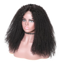 360 Lace Frontal Wigs Kinky Curly  Human Hair Wigs For Women