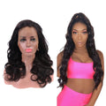 360 Transparent Lace Wave  Human Hair Wigs Lady Wig