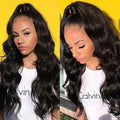Brazilian Lace Front Human Hair Wigs  Body Wave Lady Wig