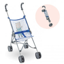 Load image into Gallery viewer, Corolle Umbrella Stroller in Blue
