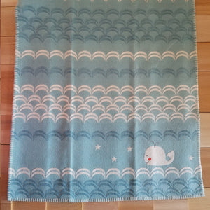 Whale and Waves Blanket