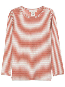 Long Sleeve Slim Fit Stripe Tee - Serendipity Organics - 9 Colors