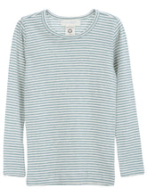 Load image into Gallery viewer, Long Sleeve Slim Fit Stripe Tee - Serendipity Organics - 9 Colors