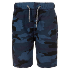 Load image into Gallery viewer, Camp Shorts- Navy Camo