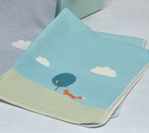 Fox and Cloud Blanket