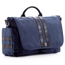 Load image into Gallery viewer, E.C. Knox Classic Navy Diaper Bag