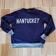 Load image into Gallery viewer, Blue Nantucket Sweater