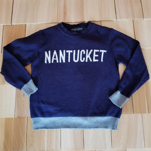 Blue Nantucket Sweater
