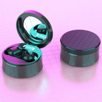 J35 LED Digital display Bluetooth Headphones Wireless Earbuds Earphones with mirror Auriculares Inalambricos Running Cuffie