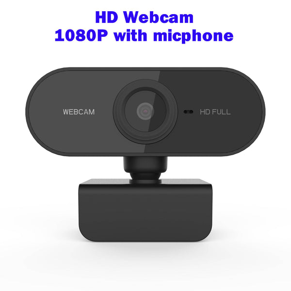 Camara Web USB Webcam 1080p Full HD Webcams Cover Laptop Web Cam with Microphone 1080 for PC Computer Camara Computadora CAM