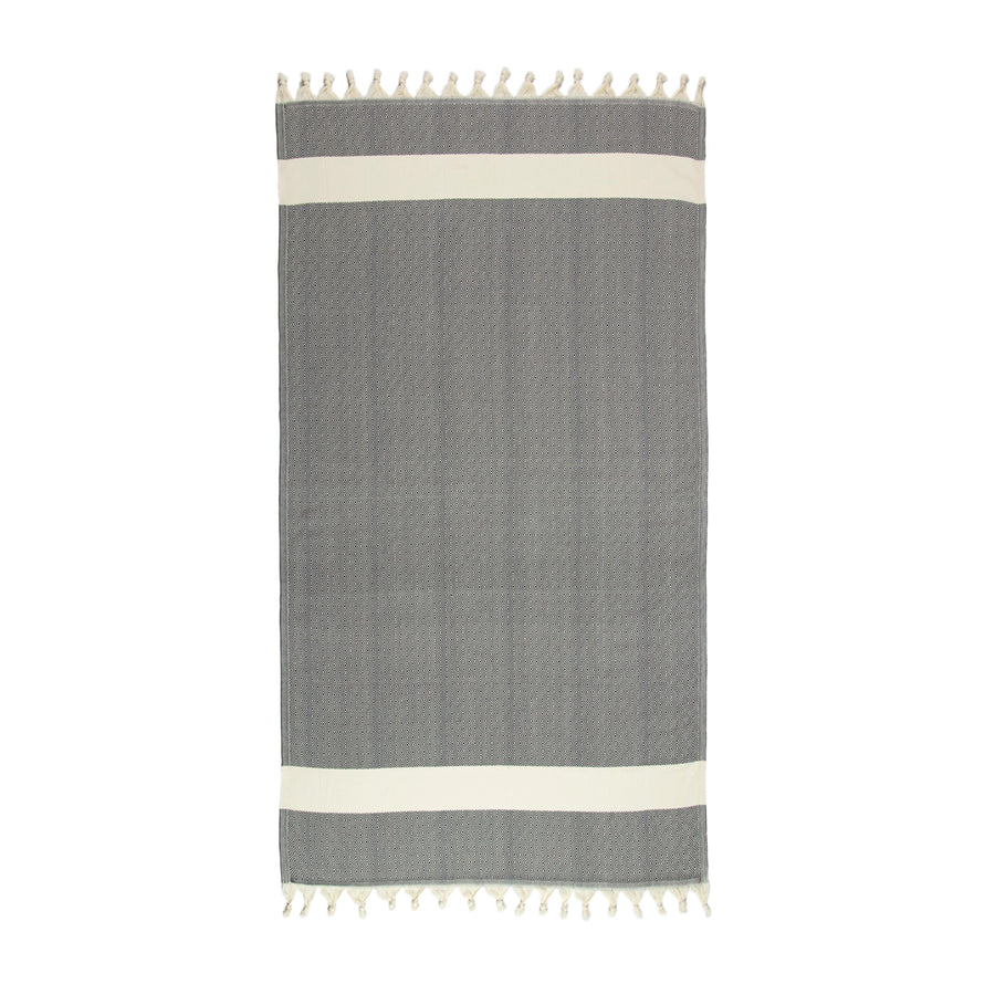 Black-and-White-Turkish-Towel-Full-Tolu-Australia