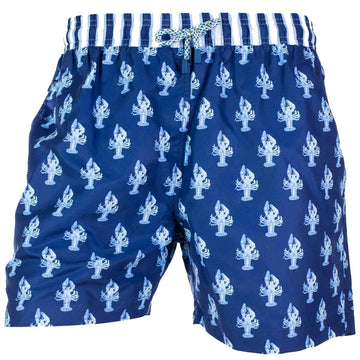 Blue Lobsters swim shorts for men LAN4 Tolu Australia