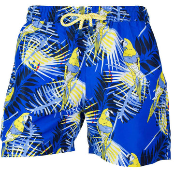 Blue Macaws swim shorts for men GUACA4 Tolu Australia