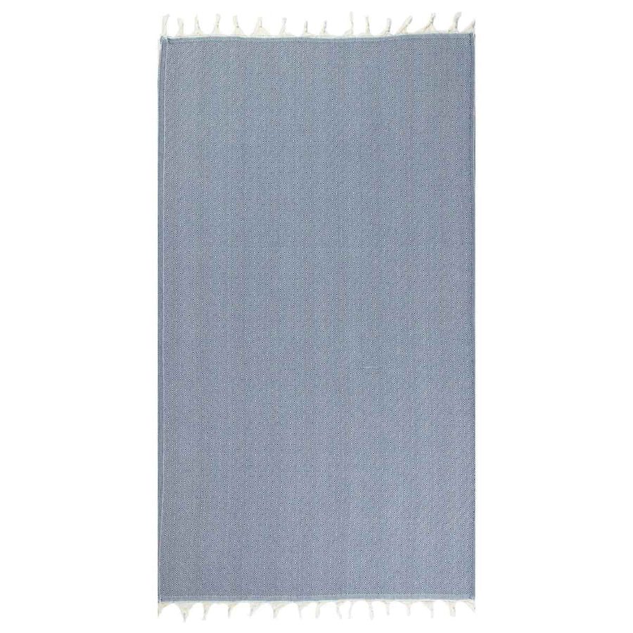Navy Turkish towel tolu australia