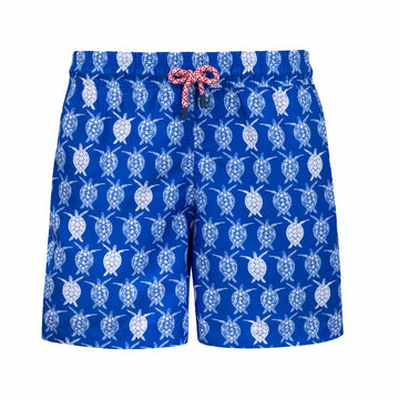 Ocean Turtles kids boardshorts CARE3