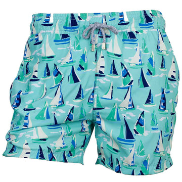 Pale blue boats shorts for men tolu australia