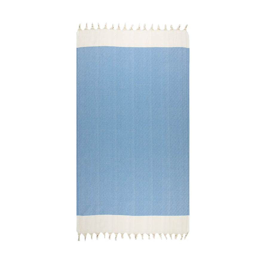 Pale Blue Turkish towel tolu Australia