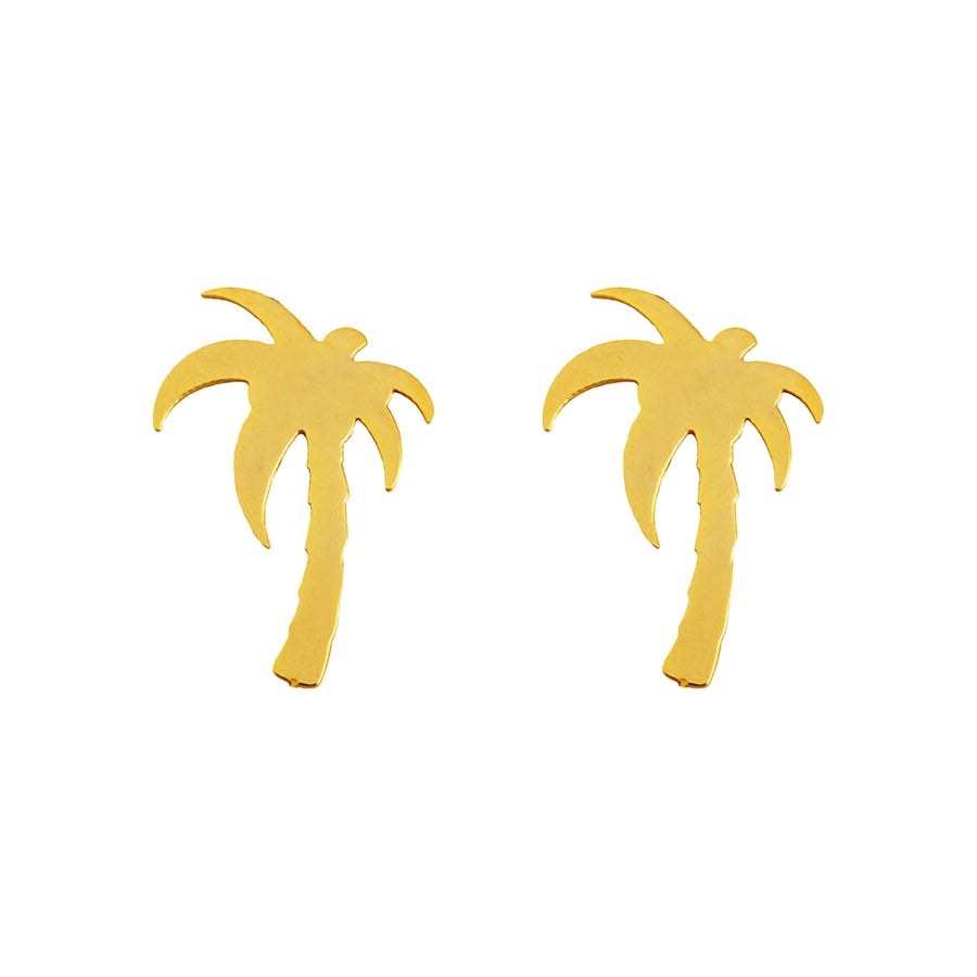 Palm Tree Earrings Full  Tolu Australia