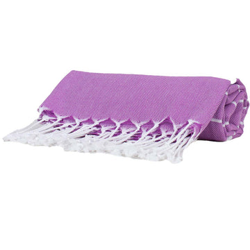 Purple Thin Turkish Towel tolu australia
