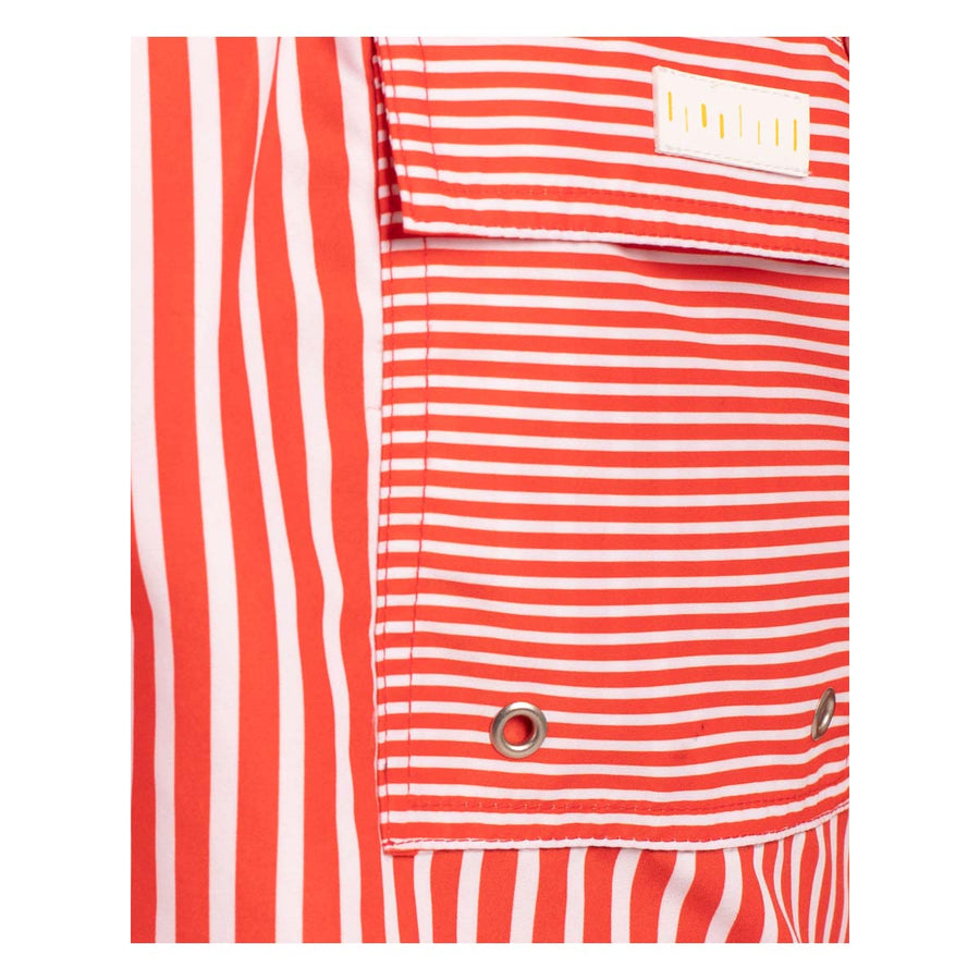 Red stripes men board shorts STRIPES3 Tolu Australia