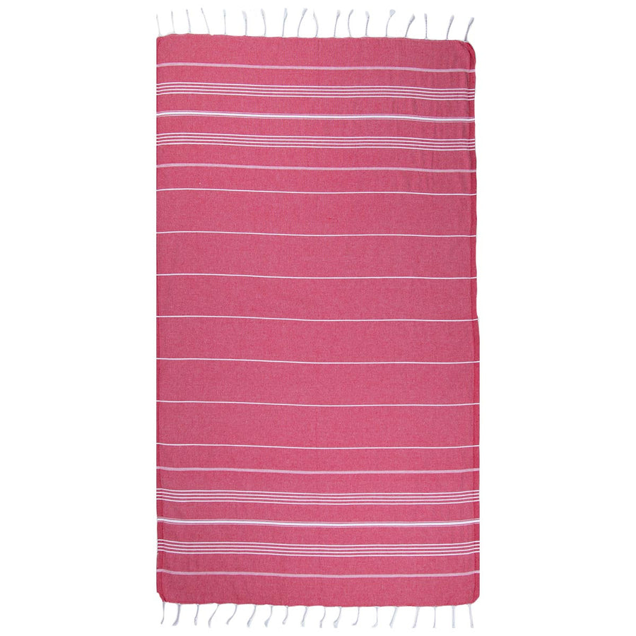 Wine Thin Turkish Towel tolu australia