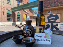 Load image into Gallery viewer, Father's Day Sake Gift Set - Hot Sake Set
